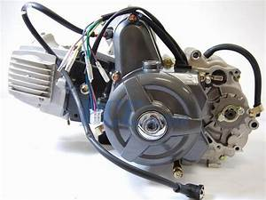 110cc Engine Motor Automatic Electric Start W   Kick Start
