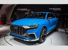 2018 Audi Q8 Concept Unveiled, Comes With 'Bombay Blue