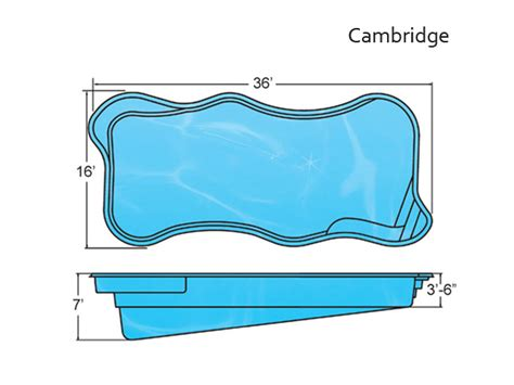 free form shapes fiberglass pools inground pools