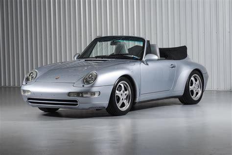 1995 Porsche 911 Carrera Cabriolet 993 Polar Silver