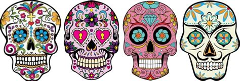 Sugar Skulls & The Day Of The Dead  Elizabeth Galloway