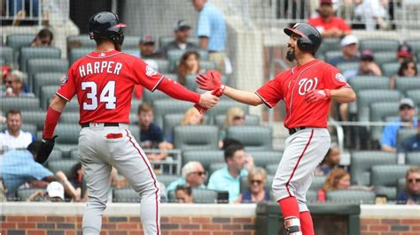 Braves' NL East lead still 6½ games after 6-4 loss to Nats ...