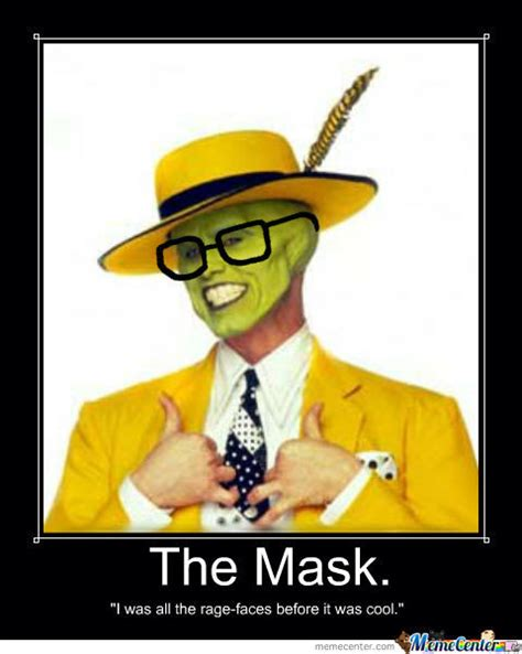 The Mask Meme - the hipster mask by halloweenqueen meme center