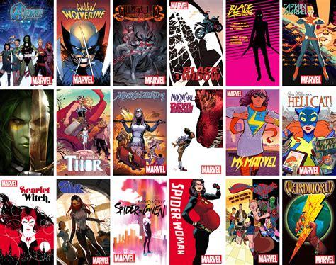 Meet The Real-life Superwomen Of Marvel Comics
