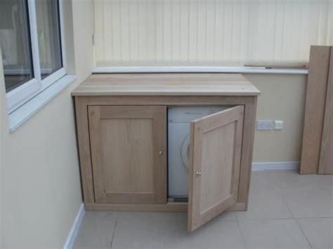 Tumble Dryer In Cupboard tumble dryer cupboard with storage for washing basket