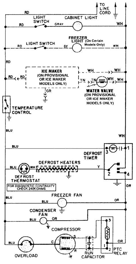 light switch   maytag refrigerator model