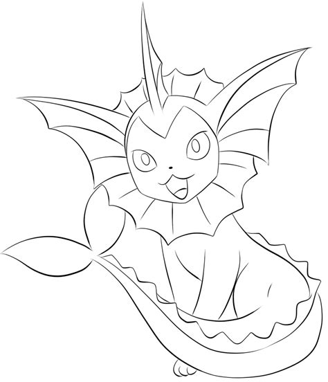 Jolteon Kleurplaat by Vaporeon Coloring Page Coloring For