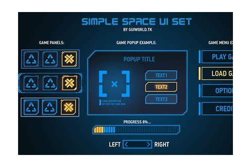 game gui psd download