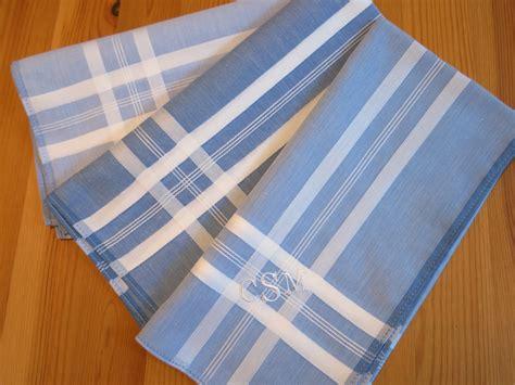 monogrammed handkerchiefs men 2 letter set of 3 set of 3 assorted color men 39 s monogrammed handkerchiefs