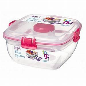 Salatbox To Go : sistema sistema salatbox to go pink online kaufen otto ~ A.2002-acura-tl-radio.info Haus und Dekorationen
