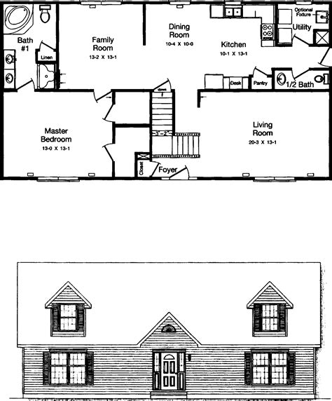 Cape Cod House Plans With Basement by Floor Plans