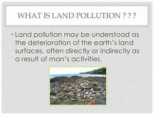 Essay on effects of land pollution on human health ...