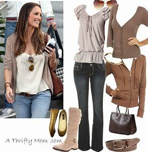 Fashion Style Boards - Copy Cat - Tan Beige Top jean bottom - A Thrifty Mom - Recipes Crafts ...