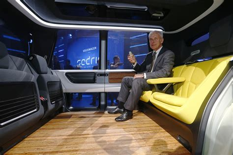 Volkswagen Group Unveils Sedric The Self Driving Car