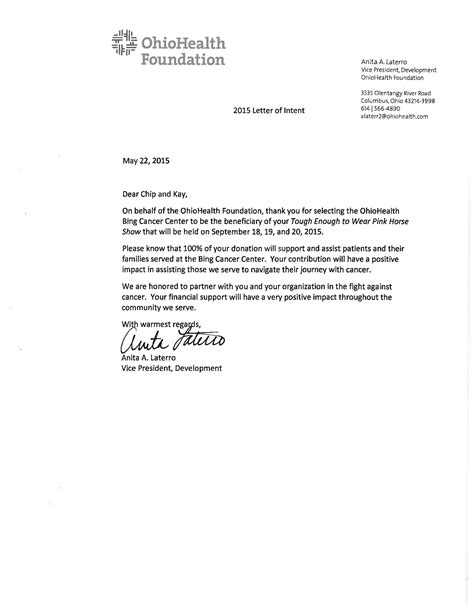 sle letter of intent awеѕоmе letter of intent sle writing professional letters 6966