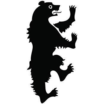 amazon com of thrones house mormont logo sigil vinyl sticker decal hbo car truck mac 11