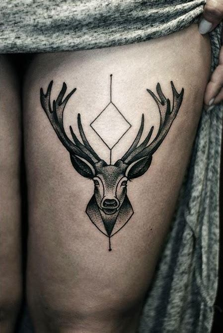 thigh tattoo tumblr