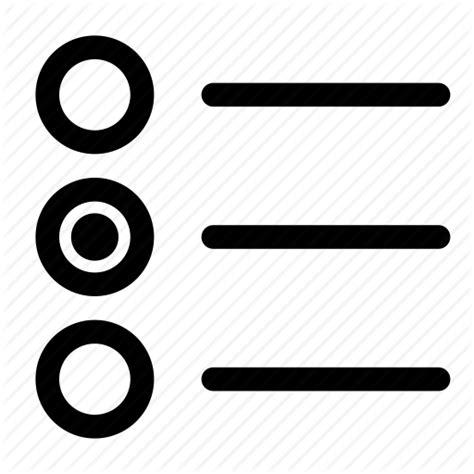 form input interface radio button icon