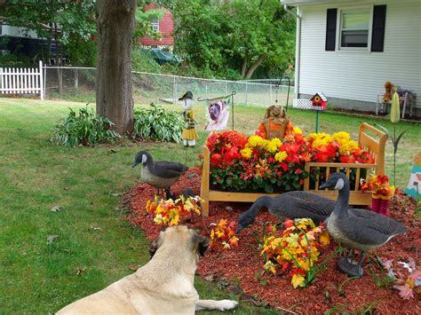 fall garden decoration ideas photograph fall decorations g