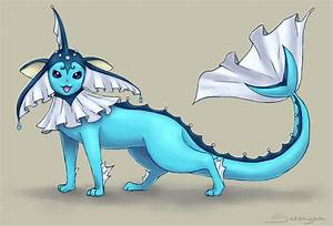 Mega Vaporeon by Serenyan on DeviantArt