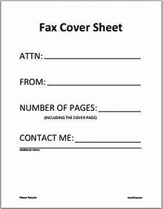 6 fax cover sheet templates excel pdf formats With fax cover sheet excel