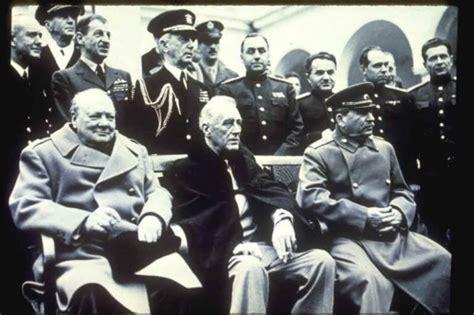 lade da libro la conferencia de yalta de 1945