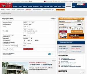 Baukredit Mit Sondertilgung : baukredit rechner eine sehr gute hilfe die jedoch das ~ Michelbontemps.com Haus und Dekorationen