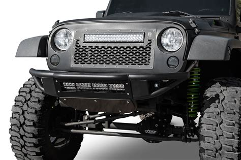 custom jeep bumper 2007 2018 jeep jk venom front bumper add offroad the