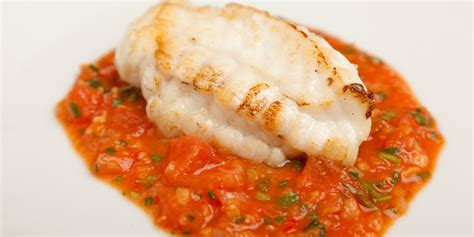 easy canapes monkfish recipe with tomato garlic great