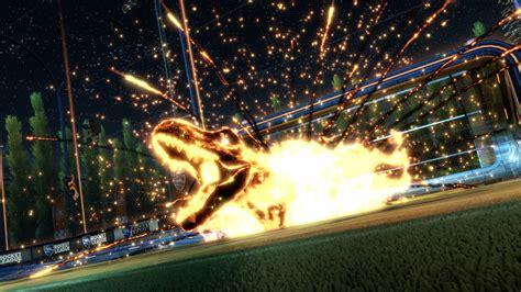rocket league jurassic world  rex hd games