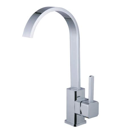 modern square kitchen faucet 67308 single handle one