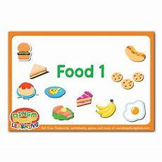 Food (set 1)  Free Esl Flashcard Pack Bingobongo