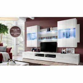 Meuble Tv Bas Et Long : meuble tv bas long blanc solutions pour la d coration int rieure de votre maison ~ Teatrodelosmanantiales.com Idées de Décoration