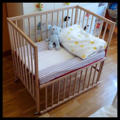 bedside crib co sleeper sniglar crib co sleeper ikea hackers ikea hackers