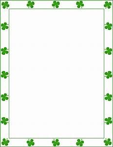 St Patricks Day Clip Art Borders Www Imgkid Com The