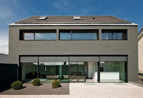 Moderne Häuser Mit Carport by Neubau Eines Einfamilienhauses Mit Carport H 228 User