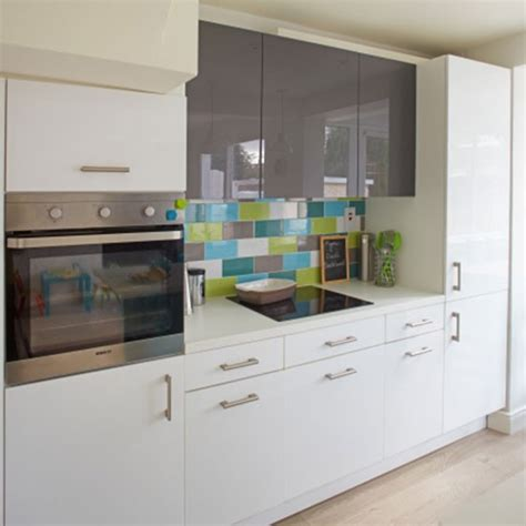 white kitchen ideas uk white and grey high gloss kitchen decorating