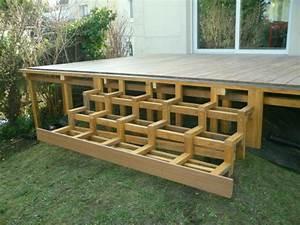 Platelage en bois exotique Ipé