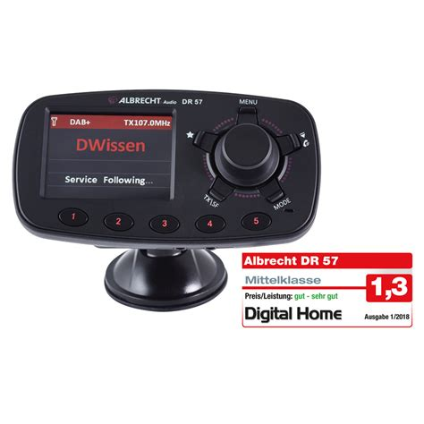 autoradio bluetooth dab albrecht dr 57 dab autoradio adapter mit bluetooth