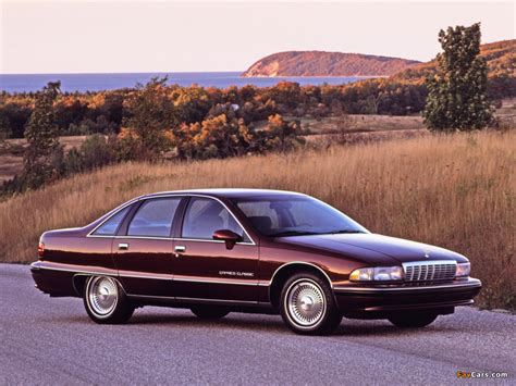 Chevrolet Caprice Classic 1991–93 wallpapers (1024x768)