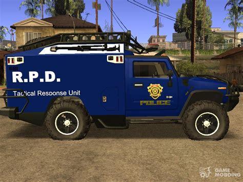 Hummer Fbi Truck For Gta San Andreas