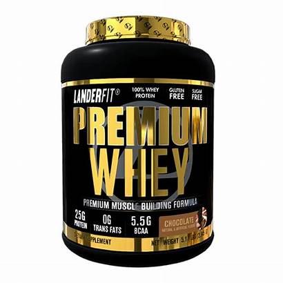 Whey Premium Protein Landerfit Proteinas Chocolate Tomas