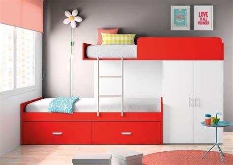 bureau superposé idées de chambre pour deux et trois enfants