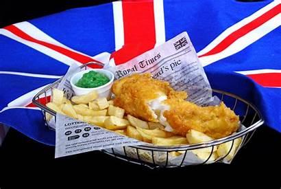 Fish Chip Shops Newspaper Britain