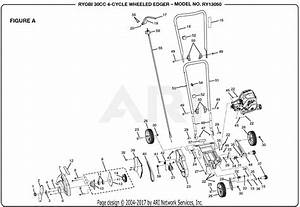30 Ryobi X430 Parts Diagram