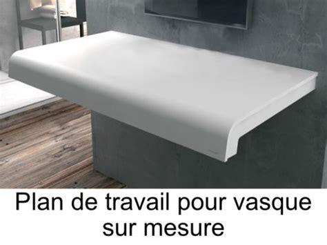 Vanités Définition by Plan Toilette Sur Mesure En Solid Surface Pour Vasque De