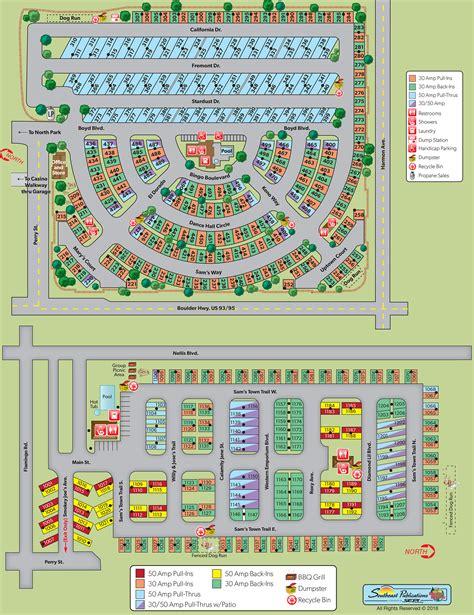 Las Vegas, Nevada Campground  Las Vegas Koa At Sam's Town