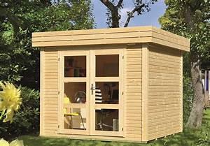 Abri De Bois : abri de jardin 5 48 m2 toit plat ~ Melissatoandfro.com Idées de Décoration