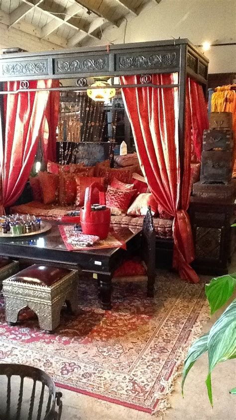 chinese canopy daybed indian textiles tara design los
