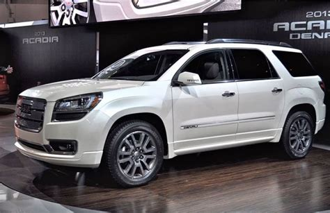 gmc acadia redesign car reviews gmc vehicles suv